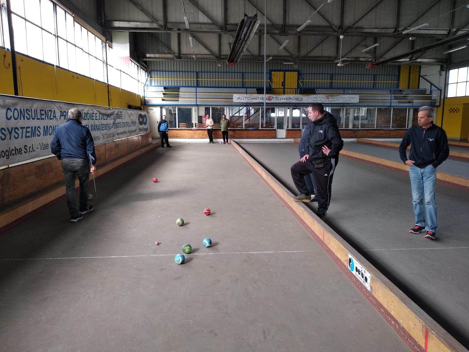 La Squadra Paralimpica dell'ASD Boville si allena
