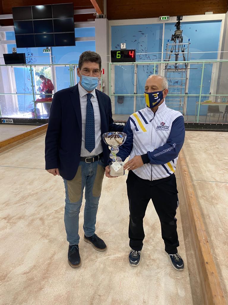 Premiazioni scudetto 2019/2020